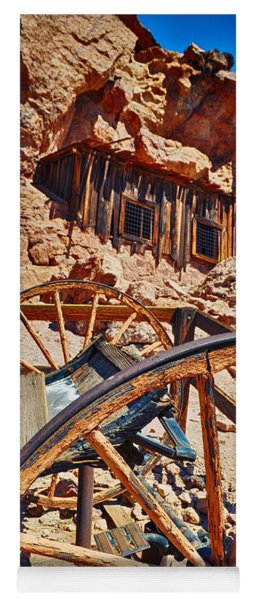 Calico Ghost Town Mine Yoga Mat