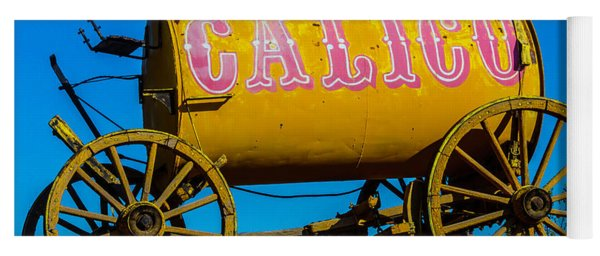 Calico Water Wagon Yoga Mat