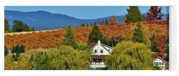 California Apple Hill Yoga Mat