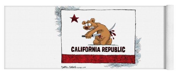 California Budget Harakiri Yoga Mat