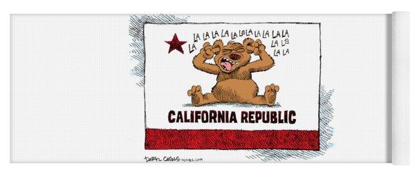 California Budget La La La Yoga Mat