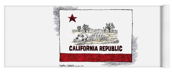 California Drought Yoga Mat