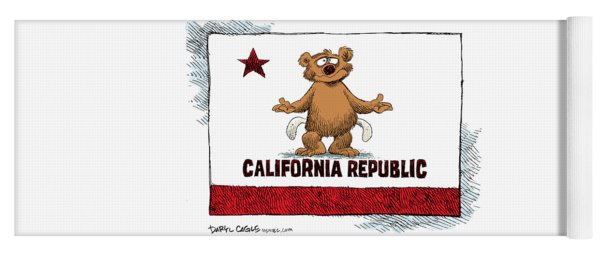 California Empty Pockets Yoga Mat
