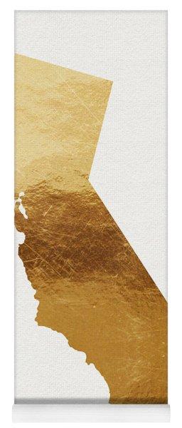 California Gold- Art By Linda Woods Yoga Mat