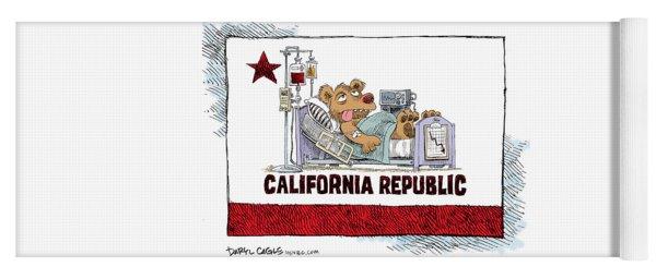 California Is Sick Yoga Mat