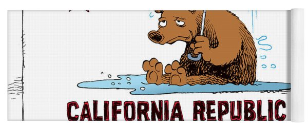 California Rain Yoga Mat