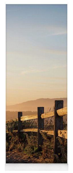 California Sunset Yoga Mat