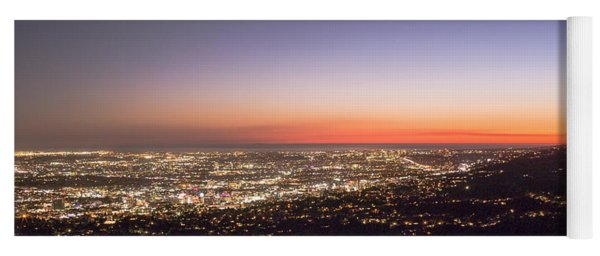 Californian Sunset Yoga Mat