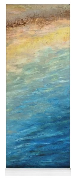Yoga Mat featuring the painting Calipso by Norma Duch