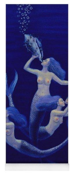 Call Of The Mermaids Yoga Mat