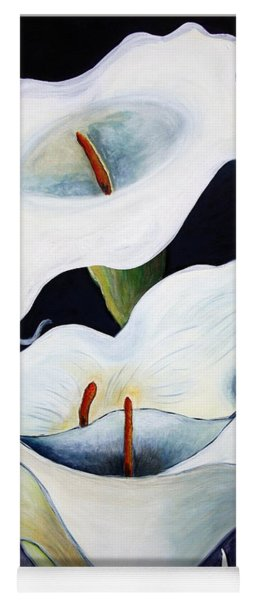 Calla Lilies.. Yoga Mat