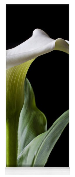 Calla Lily With Drip Yoga Mat