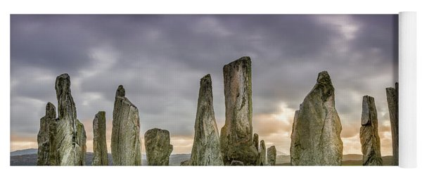 Callanish Stone Circle, Scotland Yoga Mat