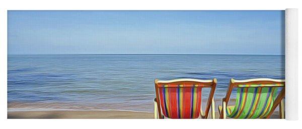 Calm Beach Yoga Mat