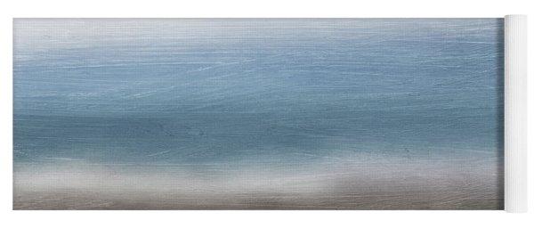 Calm Coast 2-  Art By Linda Woods Yoga Mat