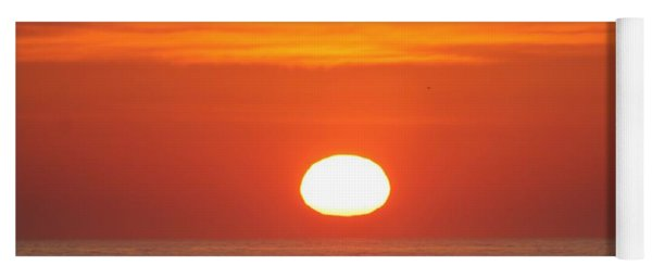 Calm Seas Sunrise Yoga Mat