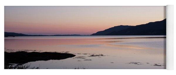 Calm Sunset Loch Scridain Yoga Mat