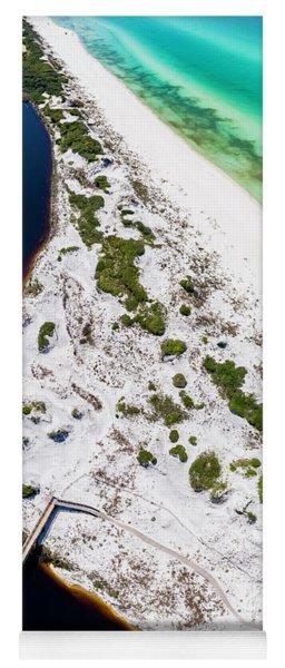 Camp Creek Lake On The Gulf Aerial Yoga Mat