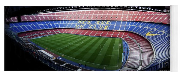 Camp Nou Yoga Mat