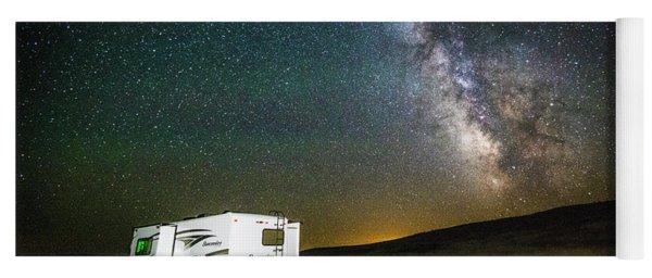 Camping Under The Stars Yoga Mat