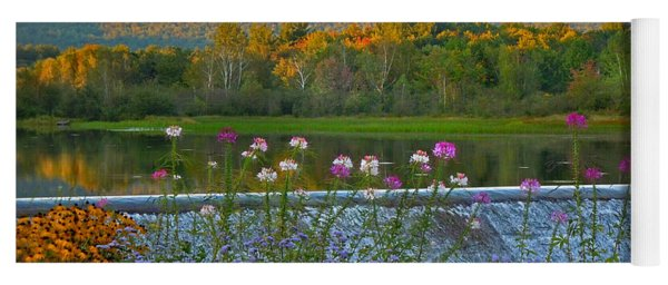 Campton Pond Campton New Hampshire Yoga Mat