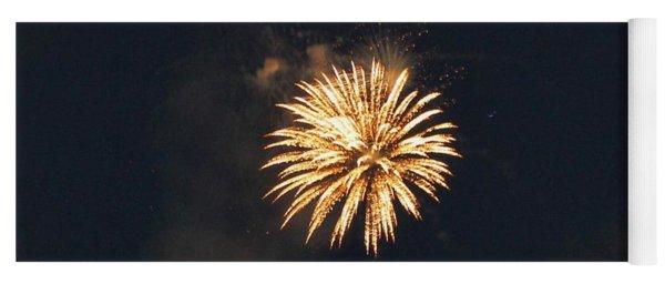 Canada Day Fireworks Yoga Mat