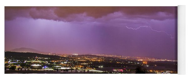 Canberra Lightning Storm Yoga Mat
