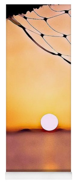 Cancun Sunset On The Lake Yoga Mat