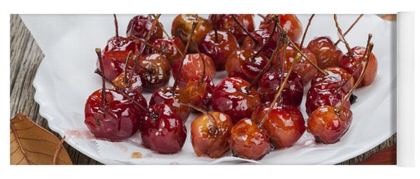 Candied Crab Apples Yoga Mat