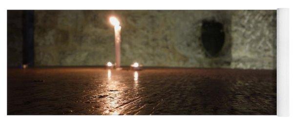 Candle Light Yoga Mat