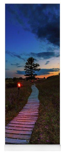 Candlelight Hike Yoga Mat