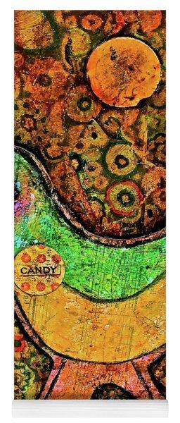 Candy Bird Yoga Mat