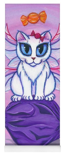 Candy Fairy Cat, Hard Candy Yoga Mat