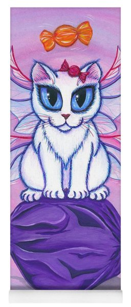Candy Fairy Cat, Hard Candy Yoga Mat