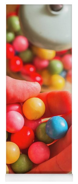 Candy Hand At Lolly Store Yoga Mat
