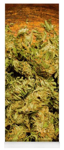 Medical Marijuana Yoga Mats | Fine Art America
