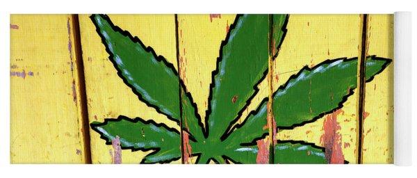 Cannabis In Bocas Del Toro Panama Yoga Mat