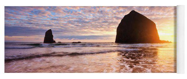 Cannon Beach Sunset Classic Yoga Mat