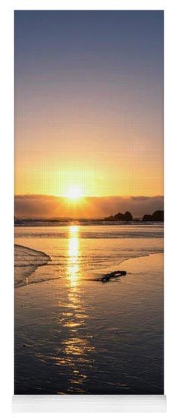 Cannon Beach Sunset Yoga Mat