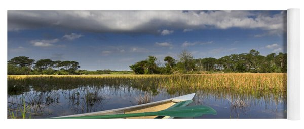 Canoeing In The Everglades Yoga Mat