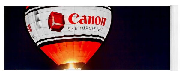 Canon - See Impossible - Hot Air Balloon Yoga Mat