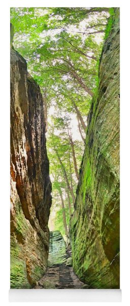 Cantwell Cliffs Trail Hocking Hills Ohio Yoga Mat