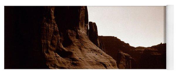 Canyon De Chelly 2c Navajo Yoga Mat