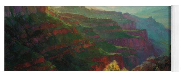 Canyon Silhouettes Yoga Mat
