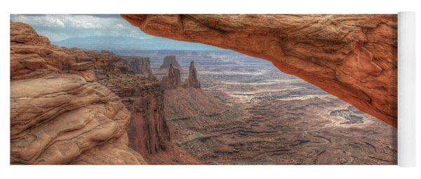 Canyonlands From Mesa Arch Yoga Mat