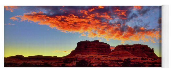 Canyonlands Sunset Yoga Mat