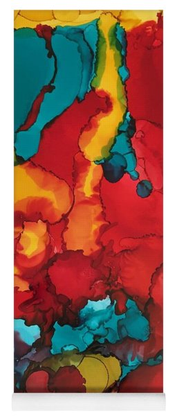 Canyons Of Color Yoga Mat