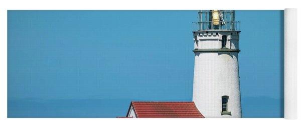 Cape Blanco Lighthouse At Cape Blanco, Oregon Yoga Mat