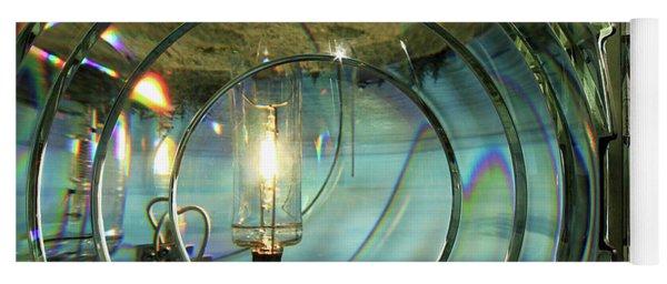 Cape Blanco Lighthouse Lens Yoga Mat