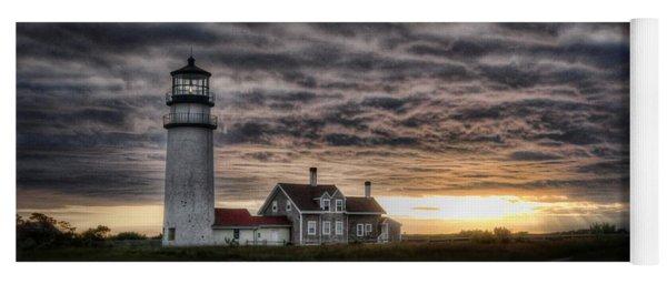 Cape Cod Lighthouse Yoga Mat